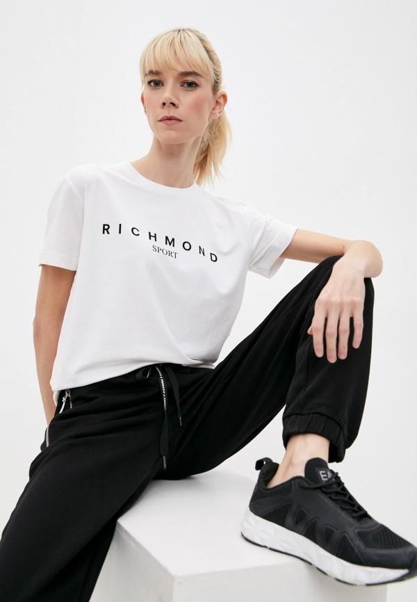 женская футболка richmond sport, белая