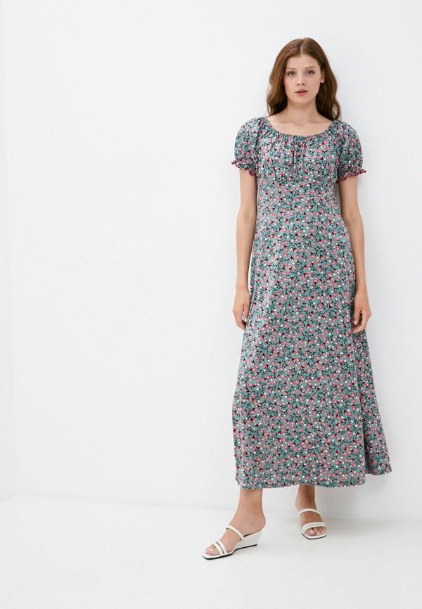 женское повседневные платье rene santi, разноцветное