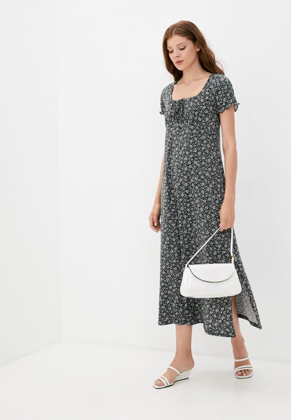 женское повседневные платье rene santi, серое