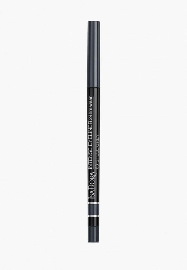 женский карандаш для глаз isadora, черный