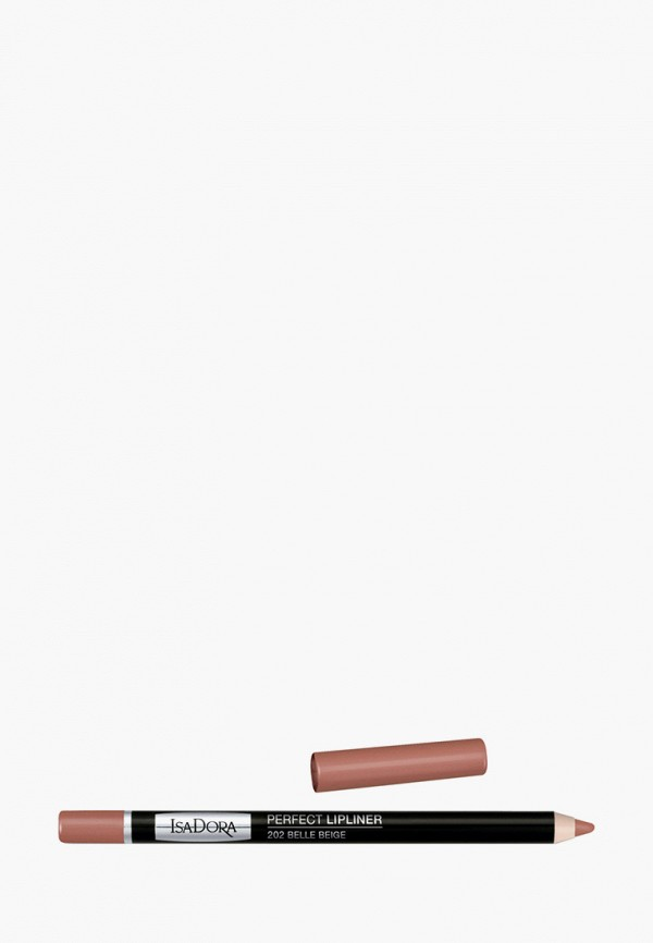 женский карандаш для губ isadora, коричневый