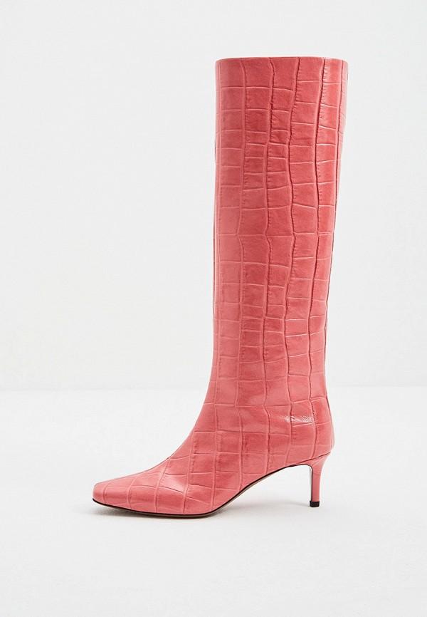 женские сапоги l'autre chose, розовые