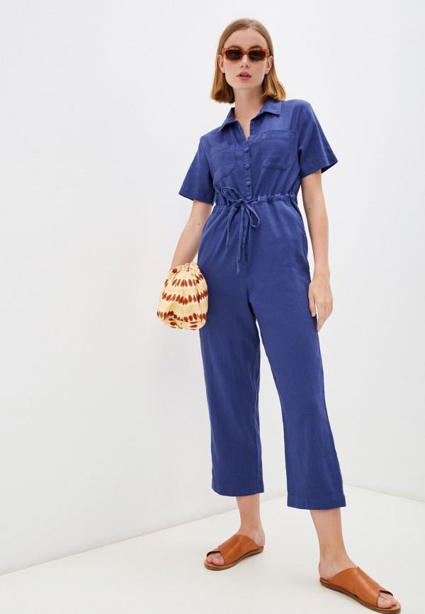 женский комбинезон с брюками whistles, фиолетовый