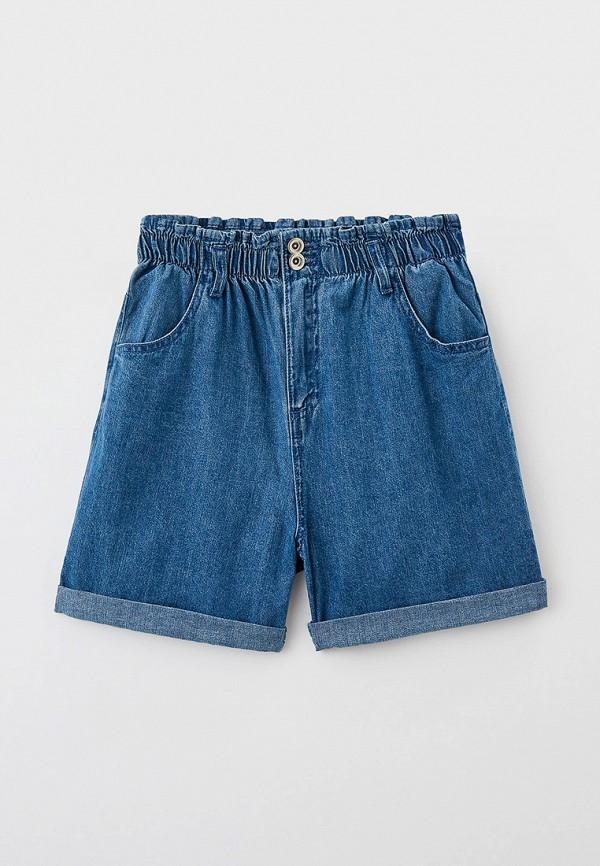 шорты sela для девочки, синие