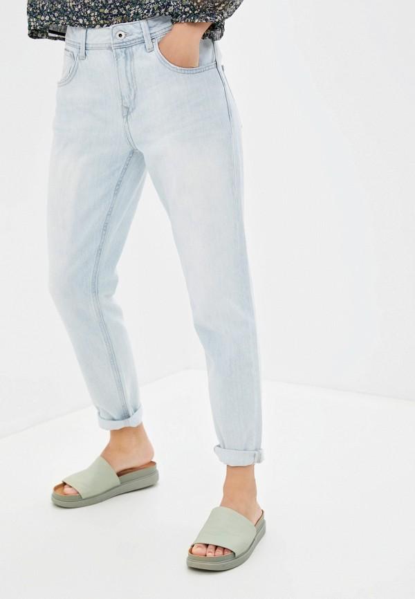 женские джинсы скинни pepe jeans london, голубые