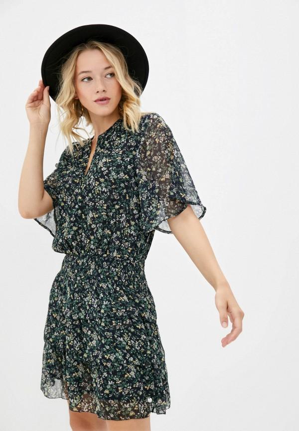 женское повседневные платье pepe jeans london, черное
