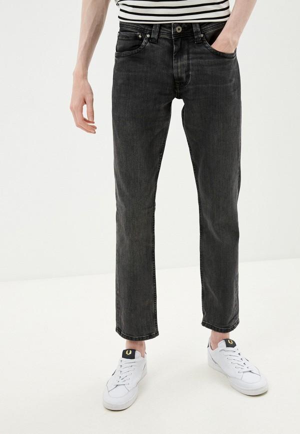 мужские прямые джинсы pepe jeans london, серые