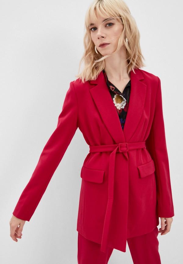 женский жакет french connection, розовый