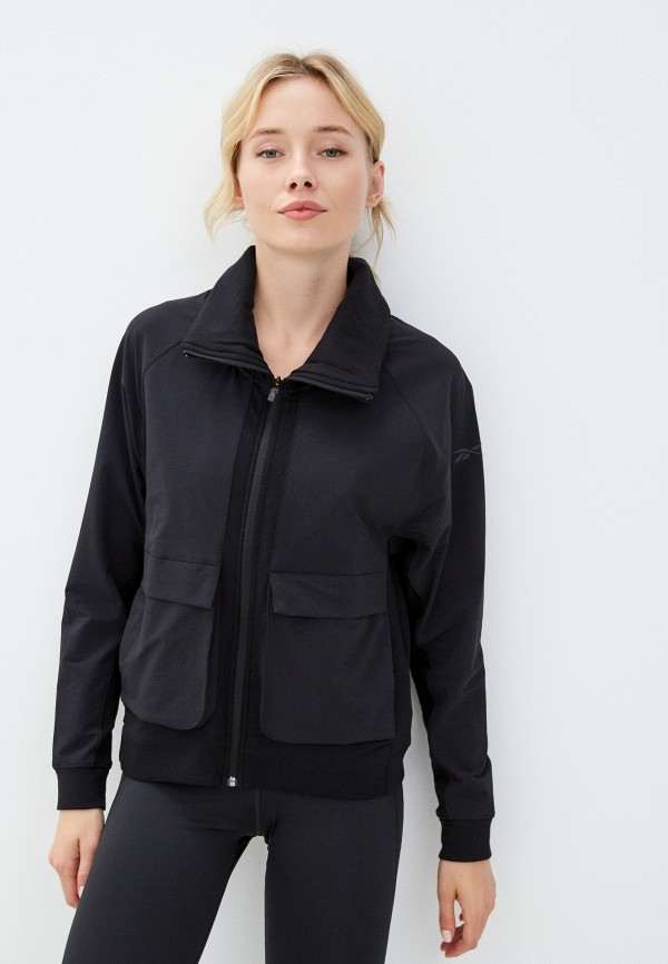 Куртка Reebok черного цвета