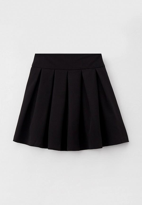 юбка pink kids для девочки, черная