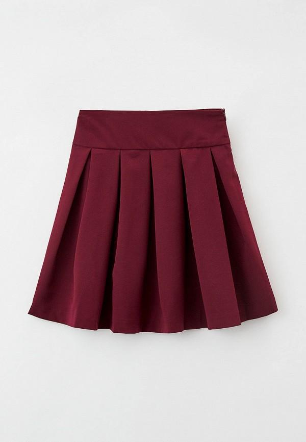 юбка pink kids для девочки, бордовая
