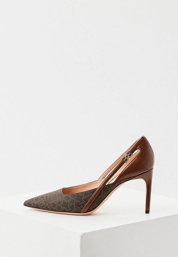 женские туфли-лодочки bally, коричневые