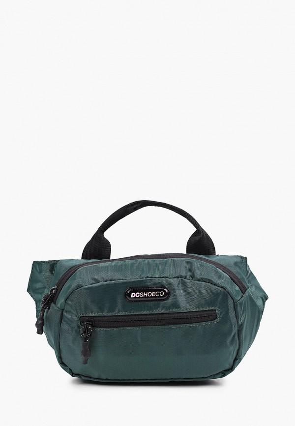 мужская поясные сумка dc shoes, зеленая