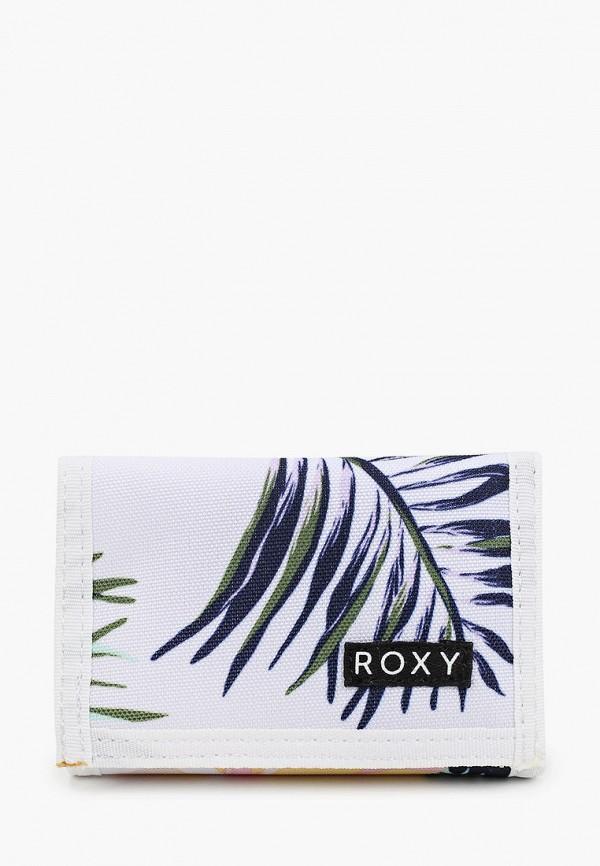 женский кошелёк roxy, белый