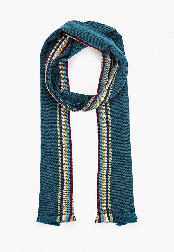 женский шарф missoni, бирюзовый