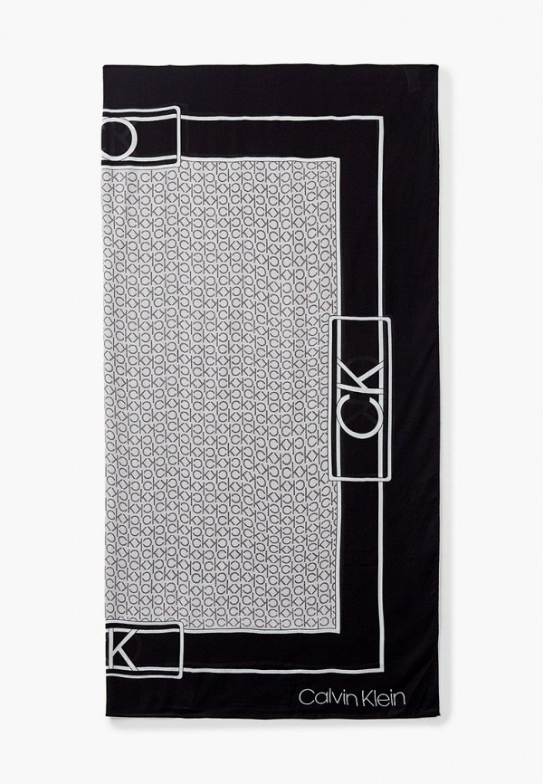 женский платок calvin klein, серый