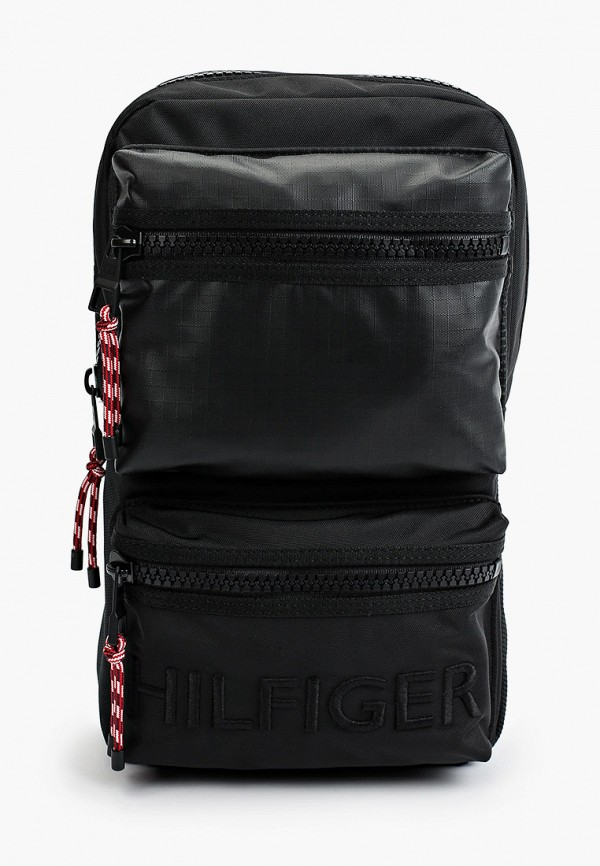 Рюкзак Tommy Hilfiger черного цвета