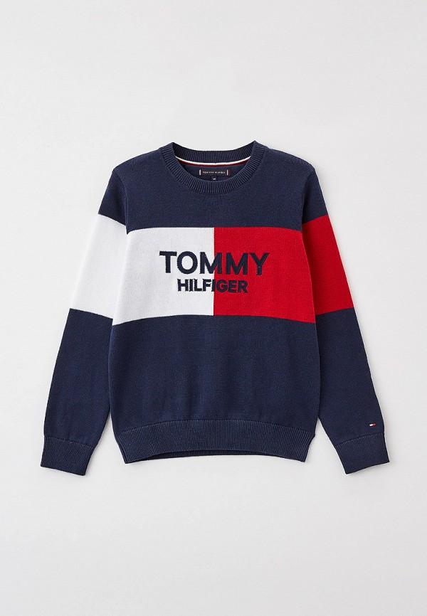 Джемпер Tommy Hilfiger разноцветного цвета