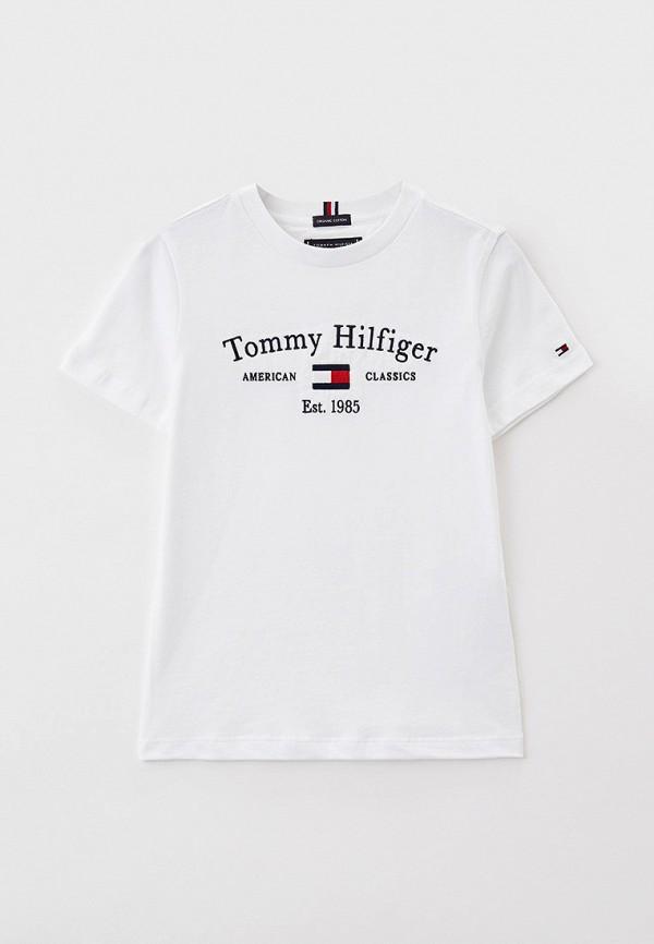 Футболка Tommy Hilfiger белого цвета