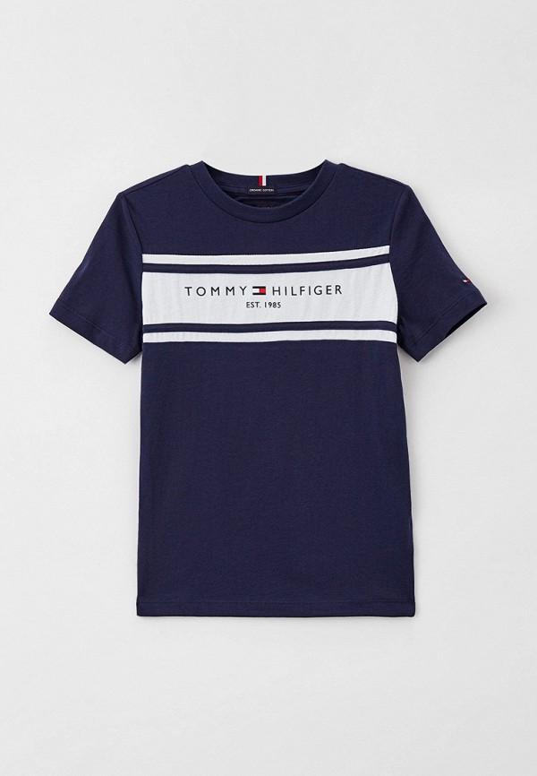 Футболка Tommy Hilfiger синего цвета