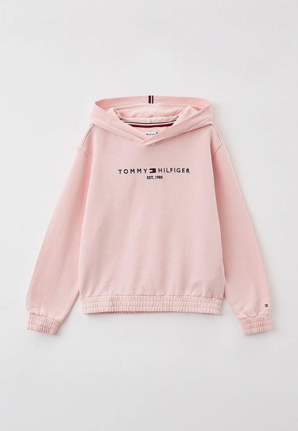 Худи Tommy Hilfiger розового цвета