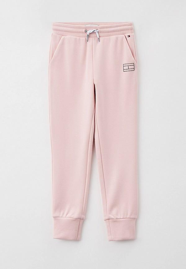 Брюки спортивные Tommy Hilfiger розового цвета