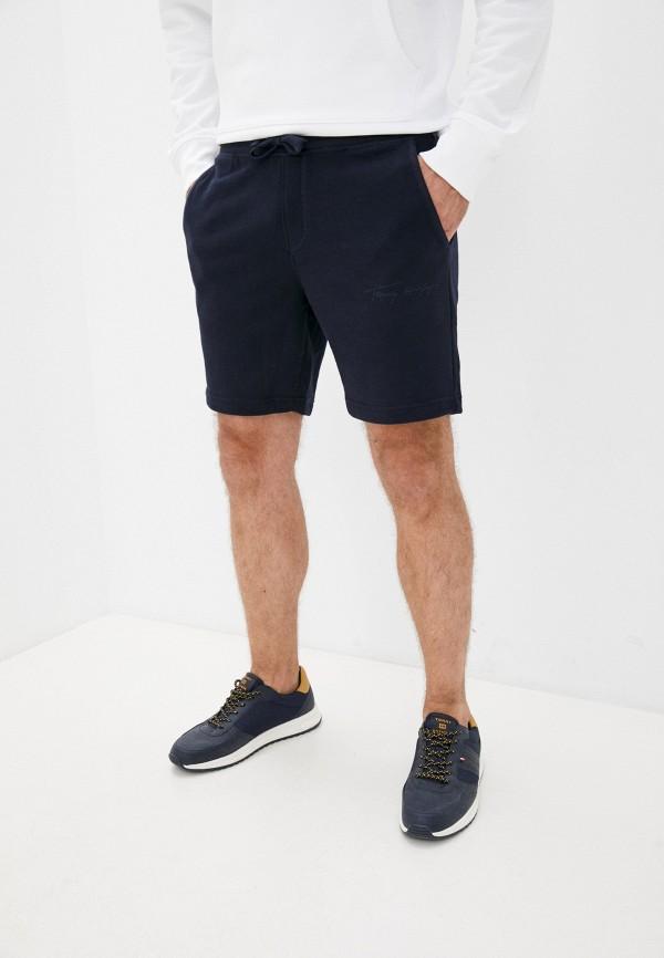 Шорты спортивные Tommy Hilfiger синего цвета