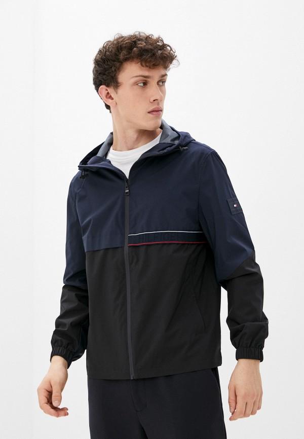 Куртка Tommy Hilfiger синего цвета