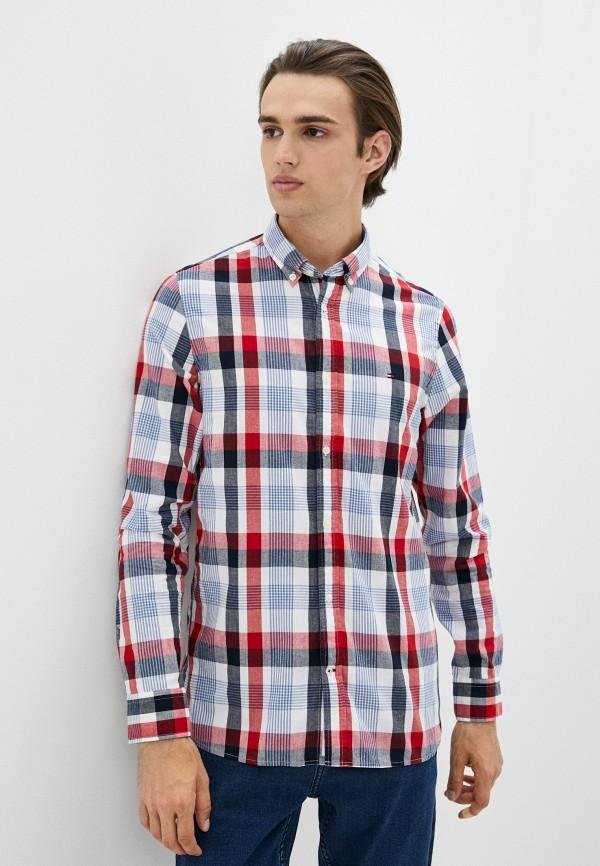 Рубашка Tommy Hilfiger разноцветного цвета