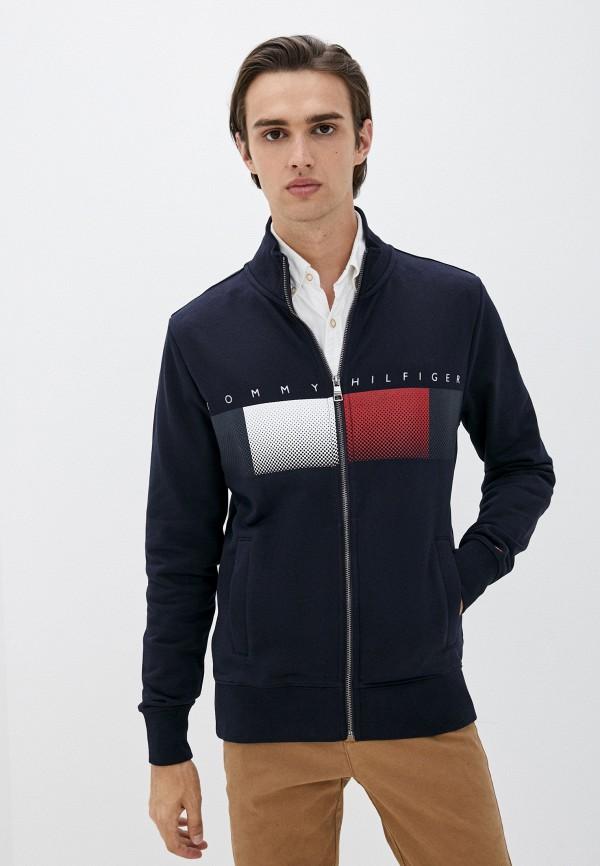 Олимпийка Tommy Hilfiger синего цвета