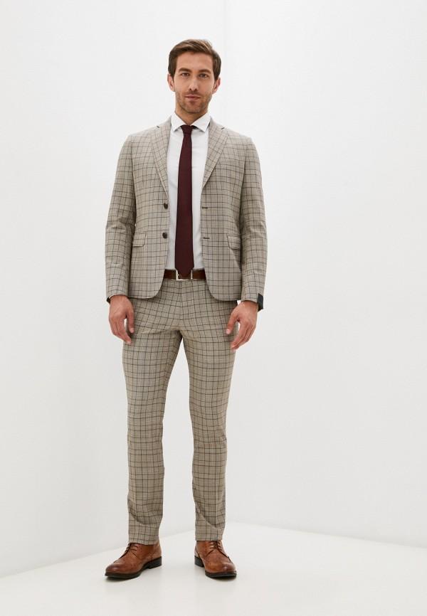 мужской классические костюм alessandro dell'acqua, бежевый