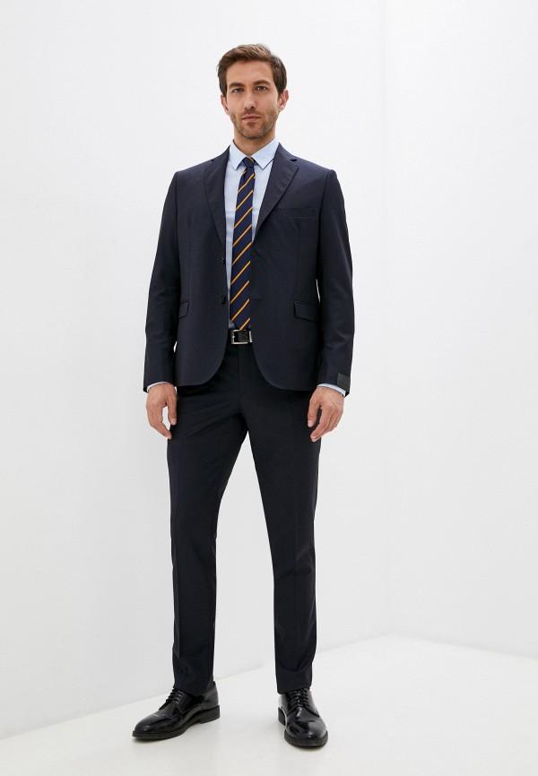 мужской классические костюм alessandro dell'acqua, синий
