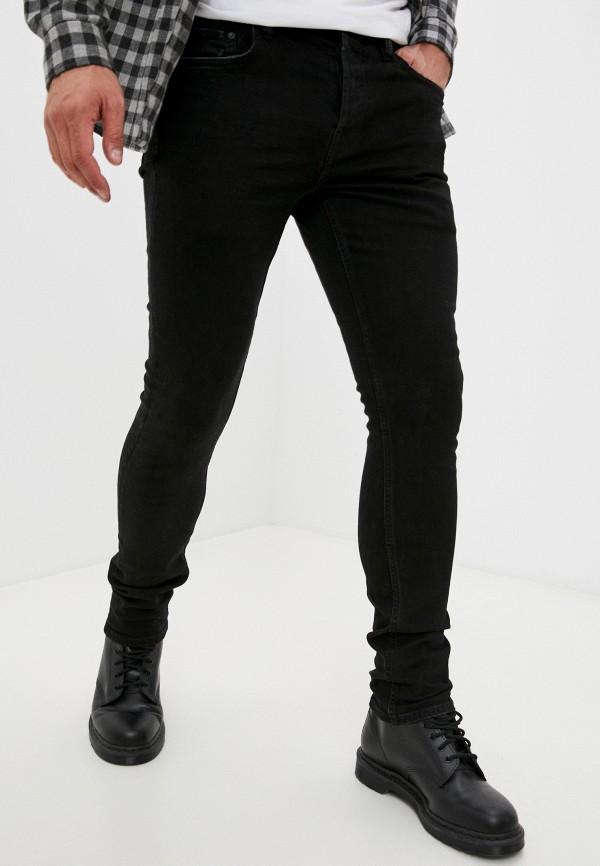 Джинсы AllSaints черного цвета