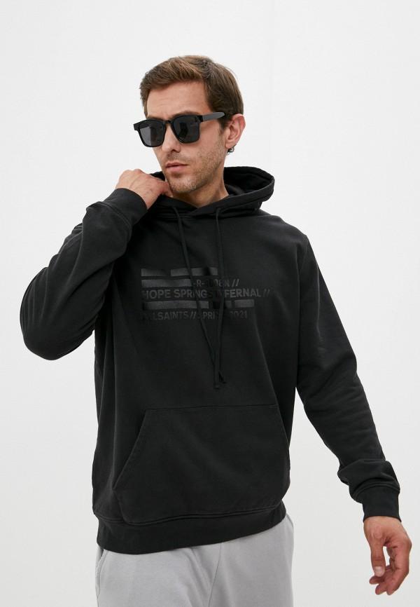 Худи AllSaints черного цвета