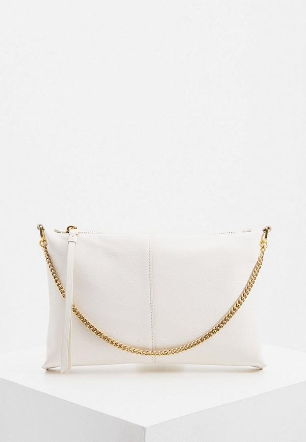 женская сумка с ручками allsaints, белая