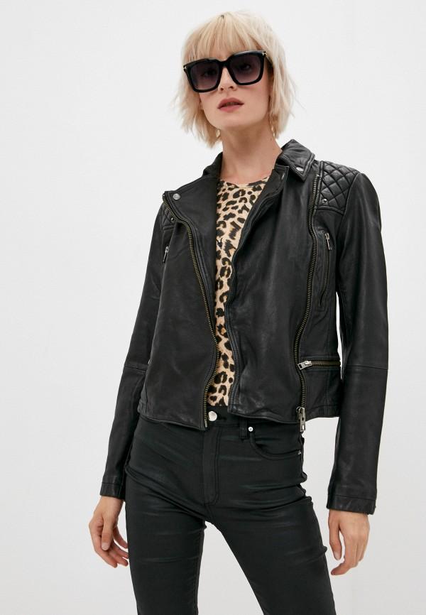 Куртка кожаная AllSaints WL047C фото