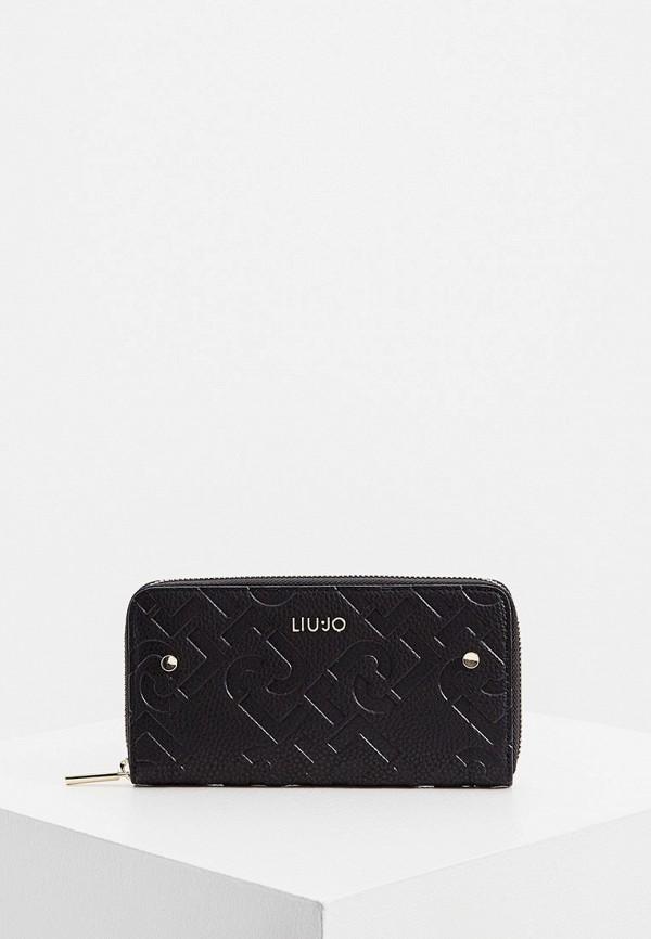 женский кошелёк liu jo, черный