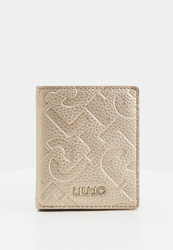 женский кошелёк liu jo, золотой