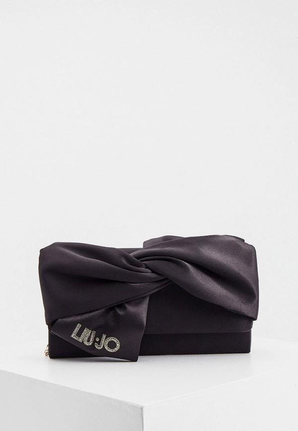 женский клатч liu jo, черный