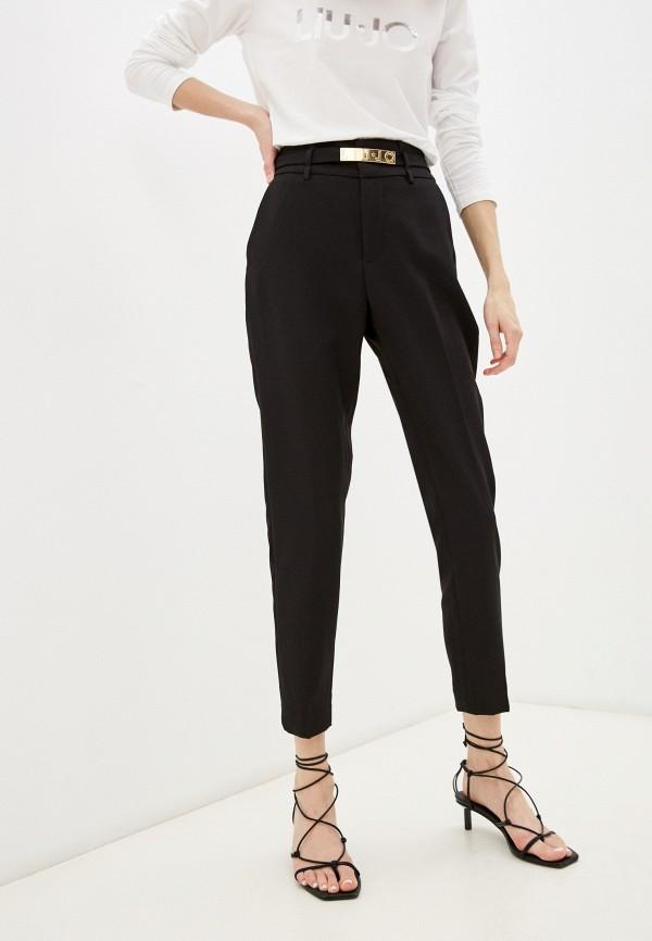 женские повседневные брюки liu jo, черные