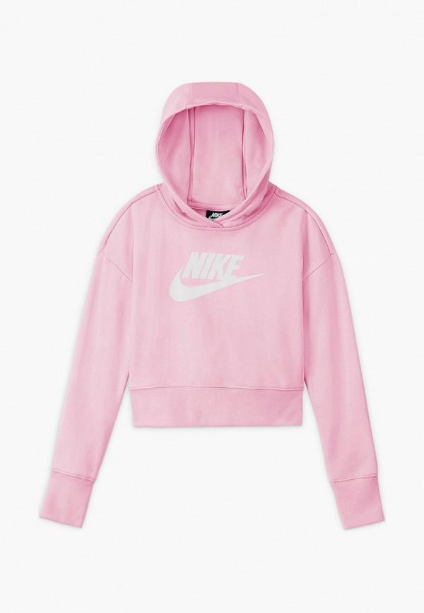 Худи Nike розового цвета