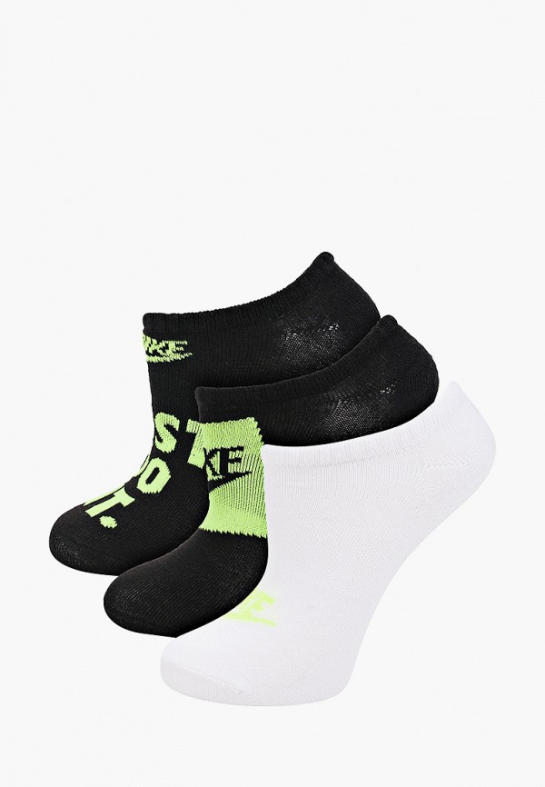 Носки 3 пары Nike разноцветного цвета