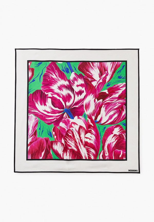 женский платок missoni, розовый
