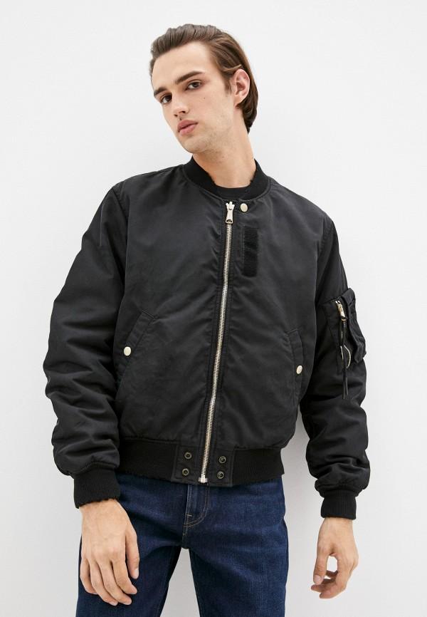 мужская куртка бомбер diesel, разноцветная