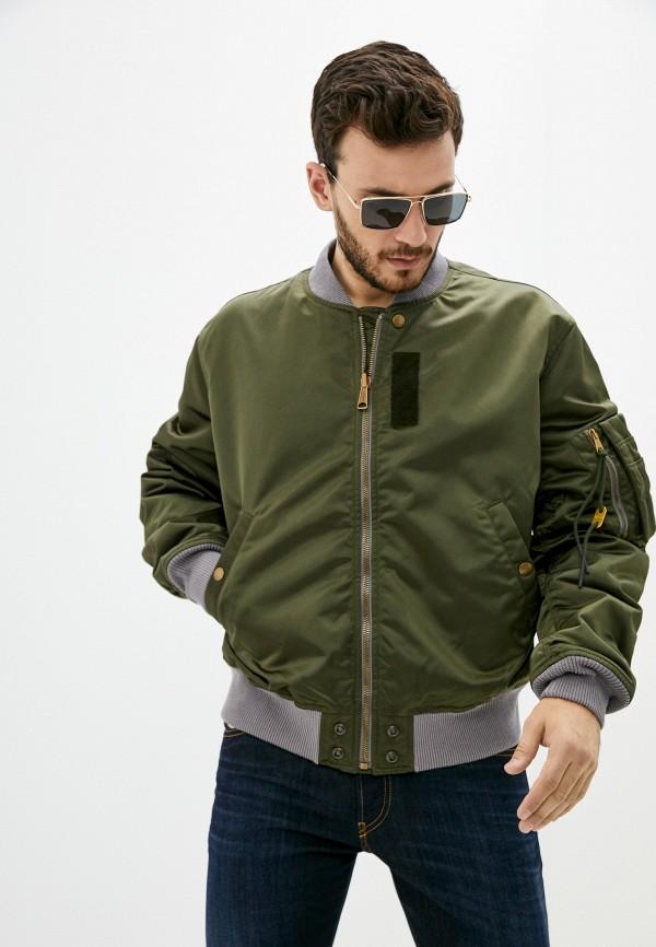 мужская куртка бомбер diesel, хаки