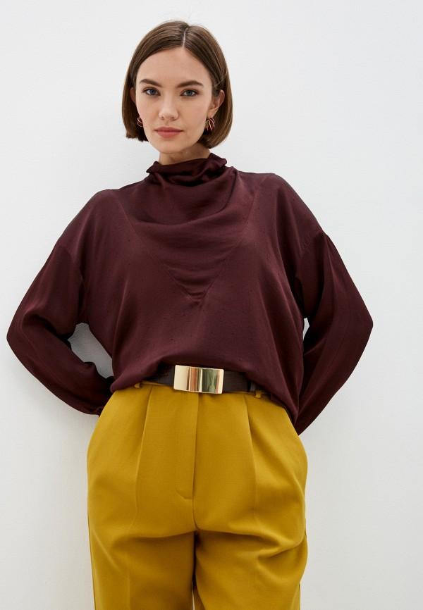 Блуза Forte Forte бордового цвета