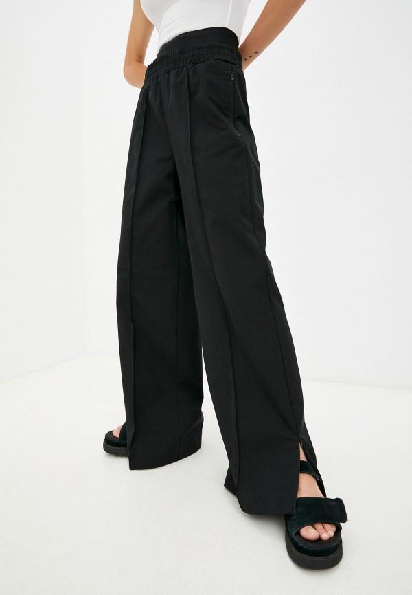 женские повседневные брюки diesel, черные