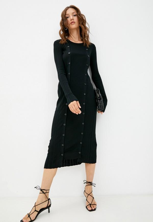 женское платье-свитеры diesel, черное