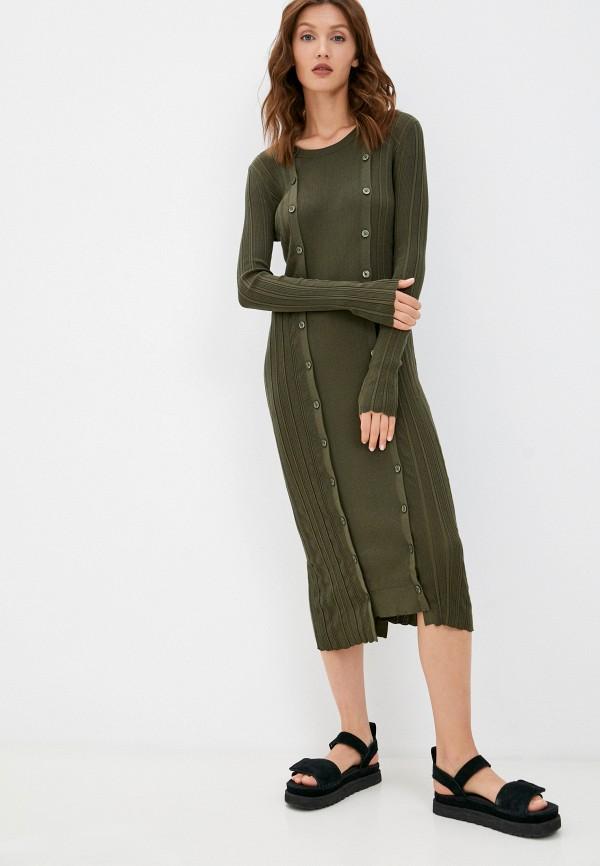 женское платье-свитеры diesel, хаки