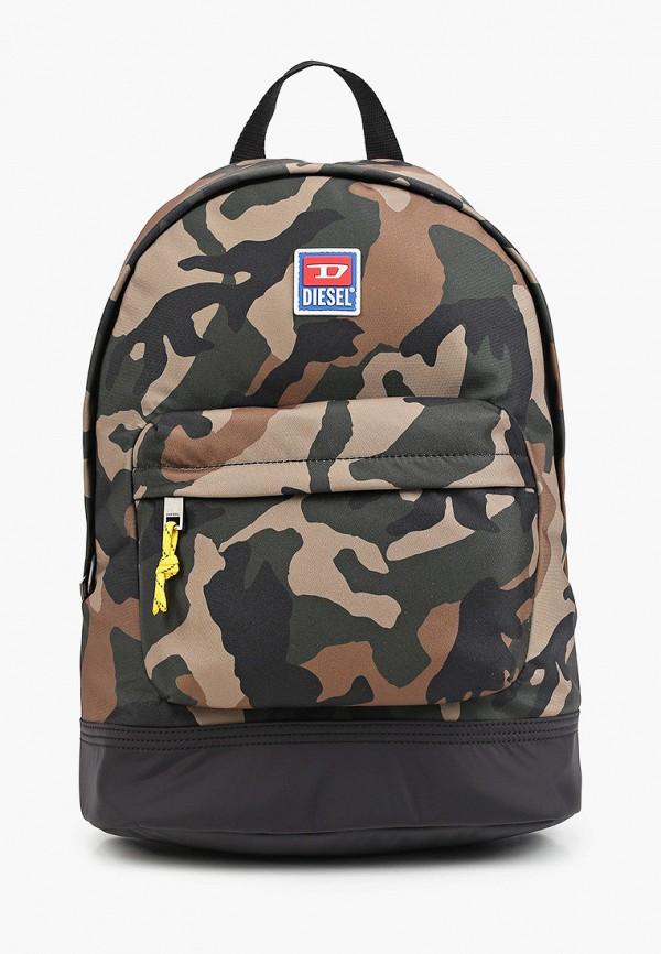 мужской рюкзак diesel, разноцветный